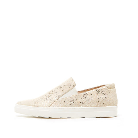 Simon (Light Gold / Snakeskin Leather)
