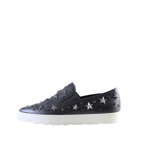 Starry (Black / Leather) - Pellemoda.us  - 1