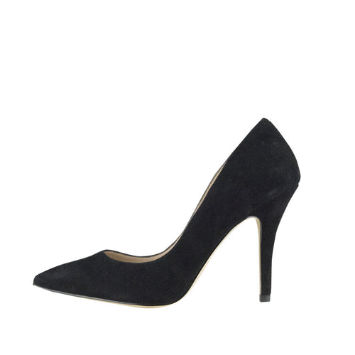 Vally (Black / Kid Suede) - Pellemoda.us  - 1