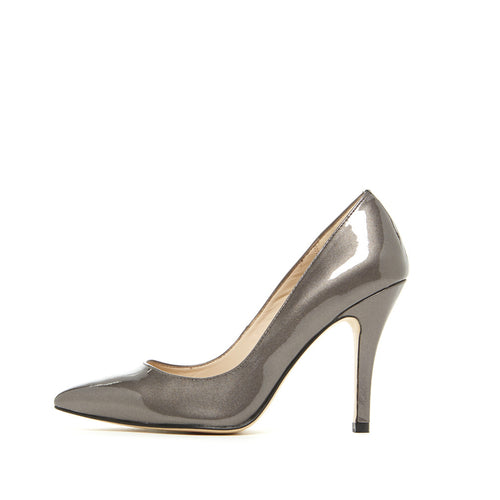Vally (Pewter / Metallic Patent)