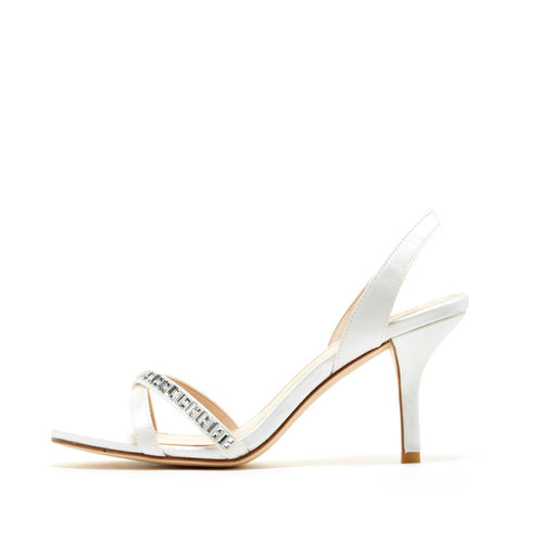 Inna (White / Satin) - Pellemoda.us  - 1