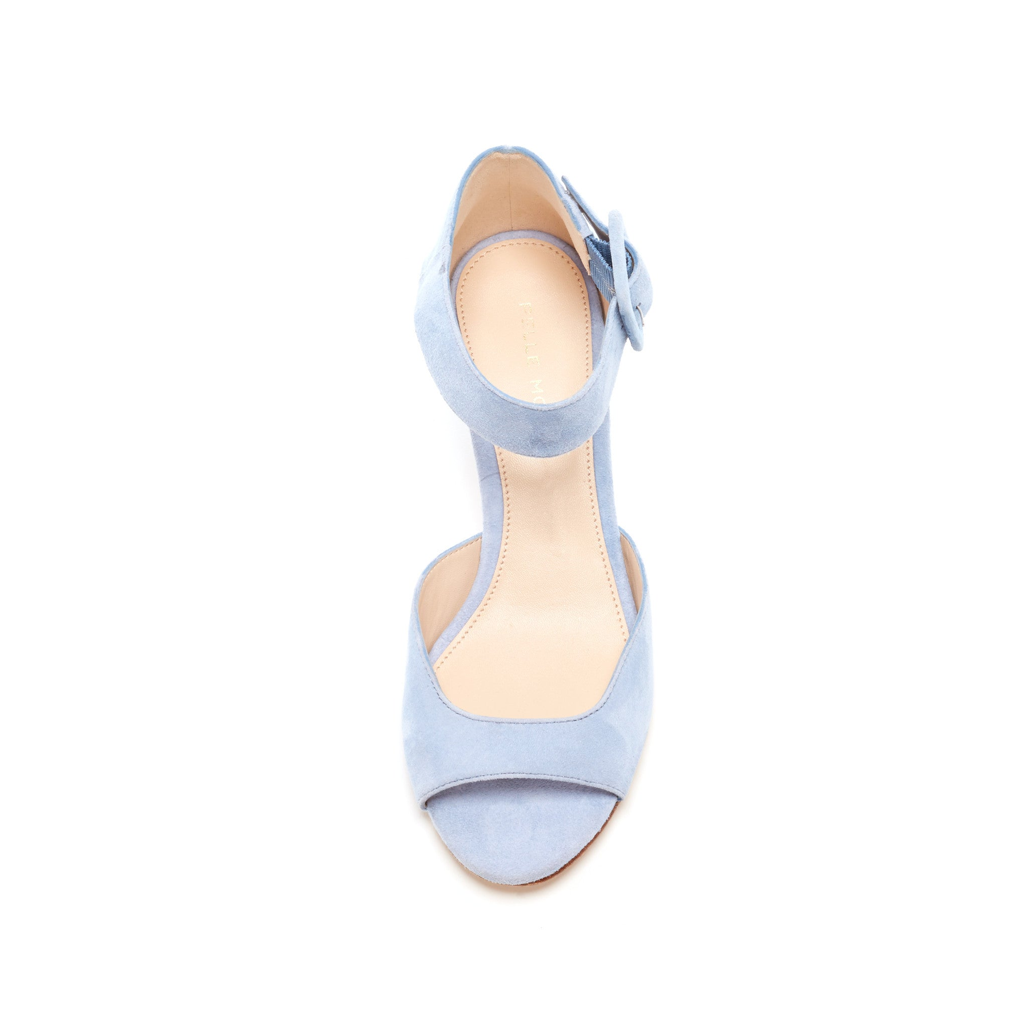 Berlin (Powder Blue / Kid Suede) - Pellemoda.us  - 3