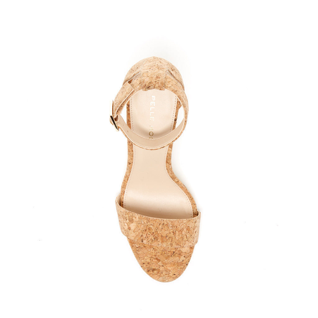 Bonnie  (Natural / Cork) - Pellemoda.us  - 3