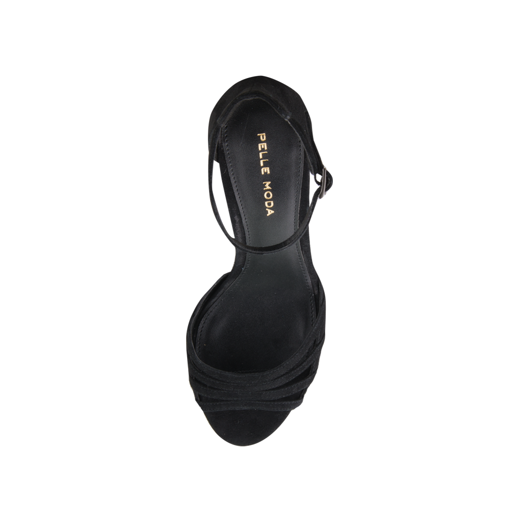 *Isabel 2 (Black / Kid Suede) - Pellemoda.us  - 3