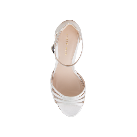 Isabel 2 (White / Silk) - Pellemoda.us  - 3