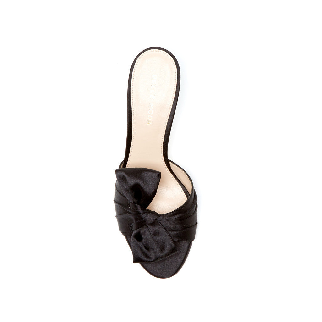 Riri (Black / Satin) - 33% Off