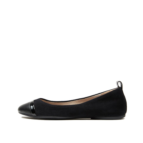 Fanny (Black /Kid Suede Leather) 50% Off