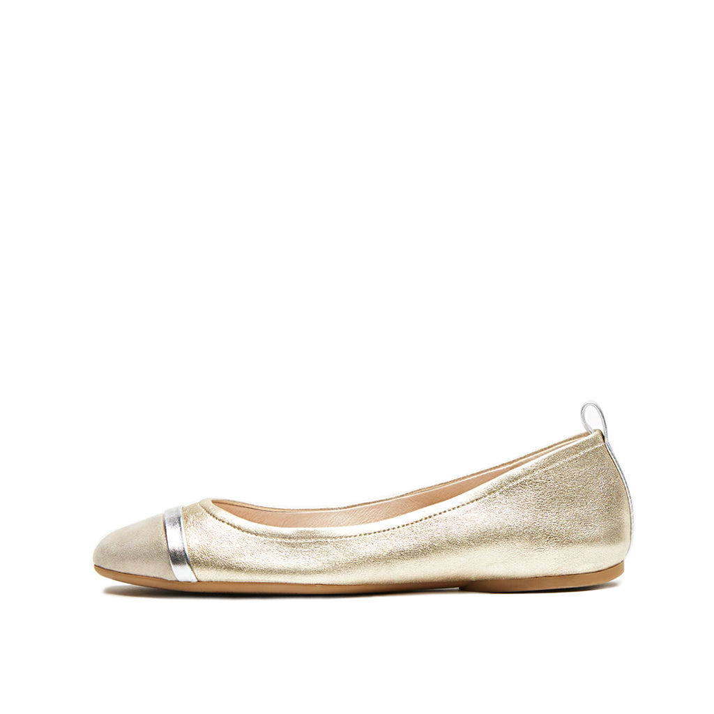 Willis (Platino Metallic Suede/Dark Taupe Shimmer Suede/Silver Metallic Leather 25 % Off