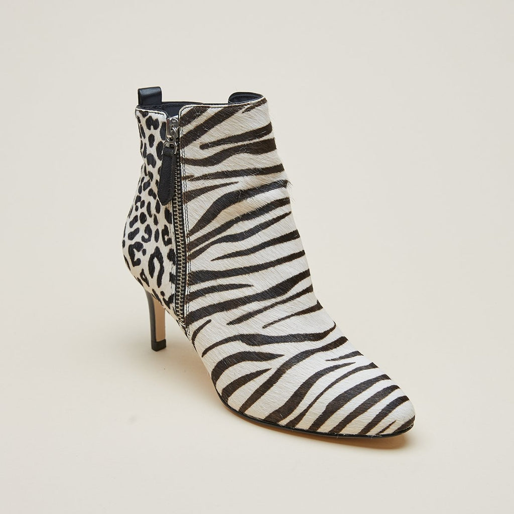 Yesnia 2 ( Cream / Leopard / Zebra / Calf Hair)