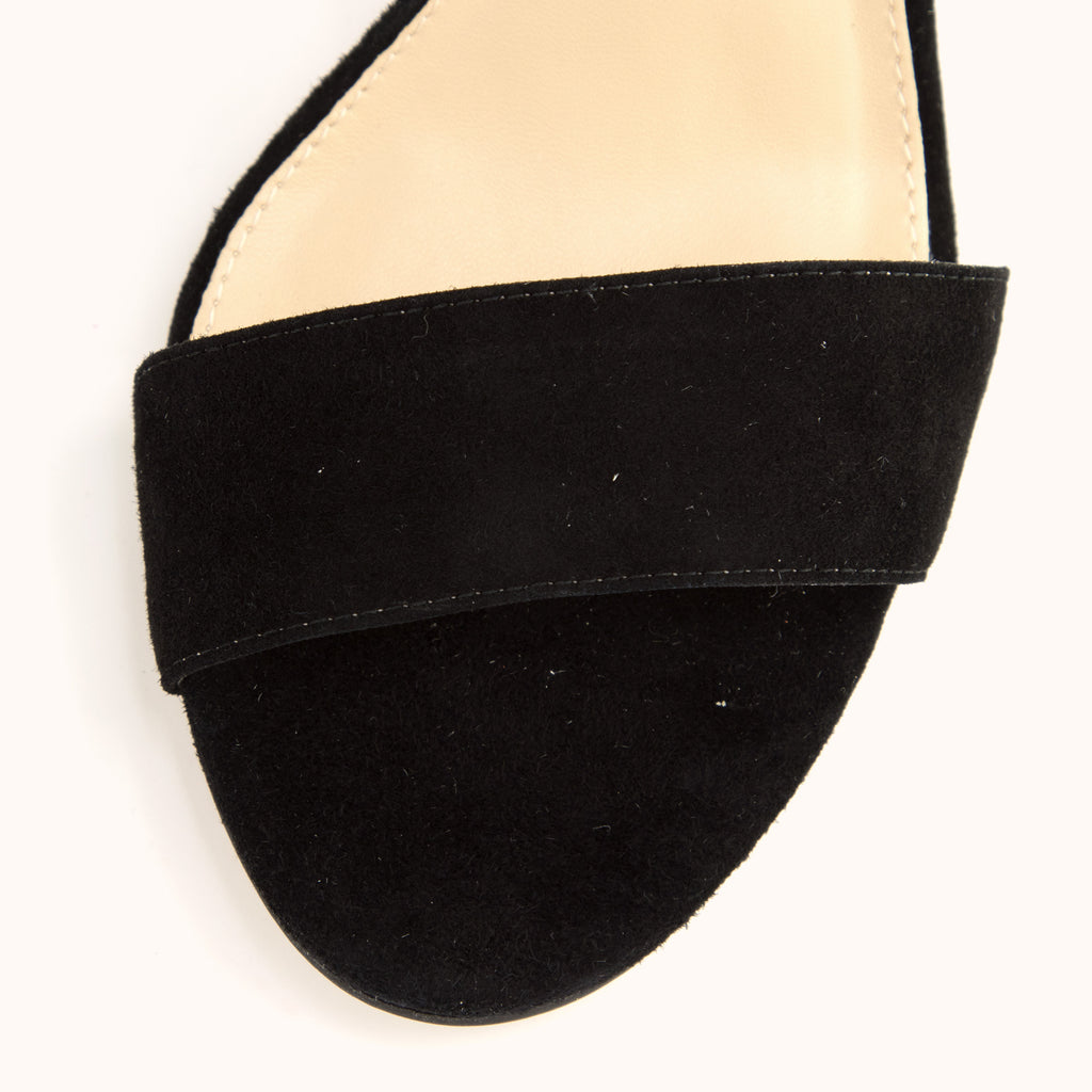 Zoey (Black / Kid Suede)
