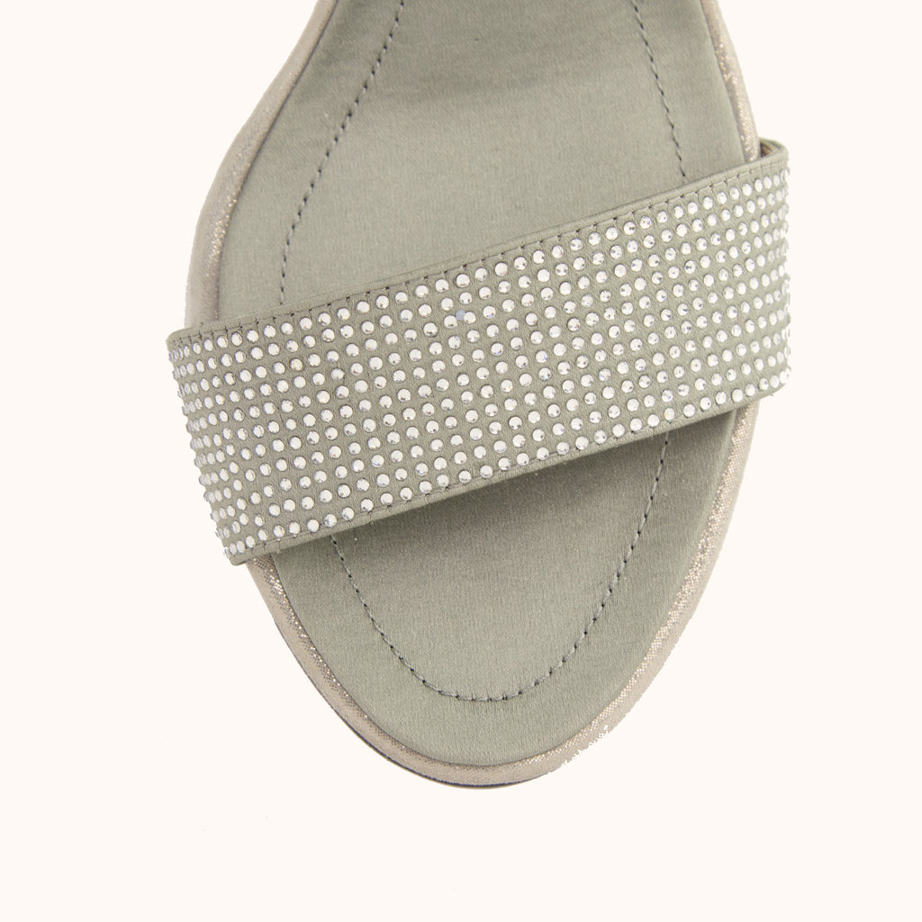Zoey 2 Block Heel - Pewter