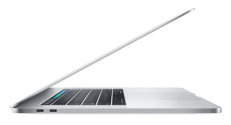 15-Inch - MacBook Pro - 256GB - Touch Bar - Silver