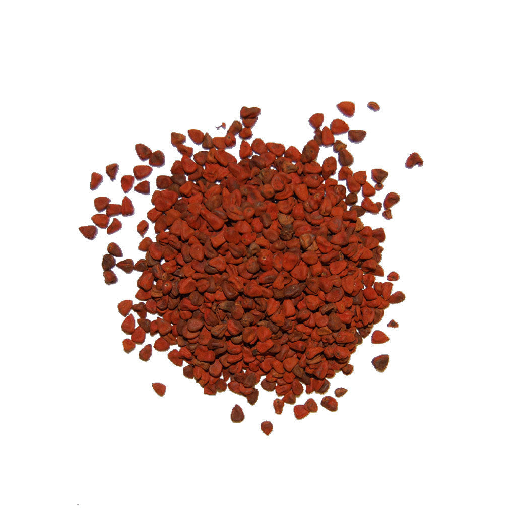 Annatto Seed - The Herb Shop - Central Market - Lancaster, PA