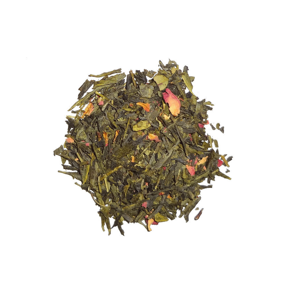Sencha Cherry Rose Tea - The Herb Shop - Central Market - Lancaster, PA