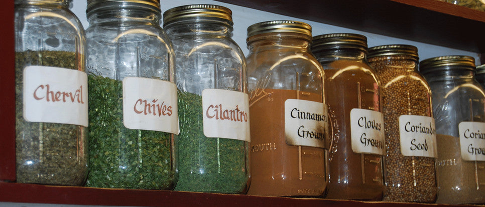 Shelf - The Herb Shop - Central Market Lancaster PA - high quality herbs, spices teas