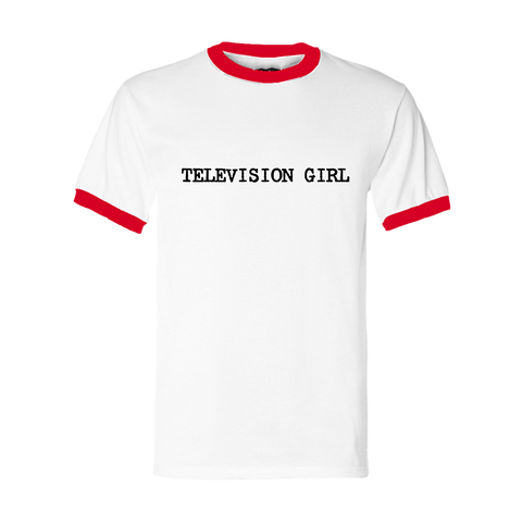 Television Girl Ringer T-Shirt + Digital Album