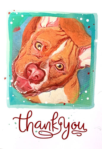 Thank You cards (dog edition)