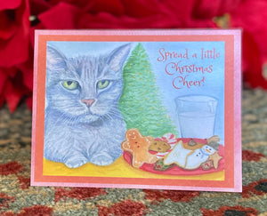 "NEW! Holiday Cards- Devon says ""Spread Christmas Cheer"""
