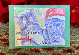 Front of 5x7 Holiday Card