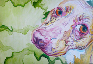 """Legacy of Lulu"" giclee print made from an orginal painting"