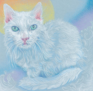 """Ophelia"" of the Rainbow Cats series"