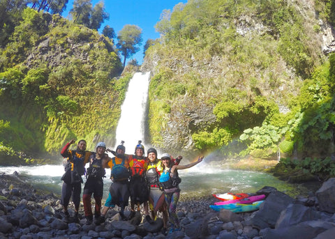Chile Waterfall Bren Orton Dane Jackson and crew