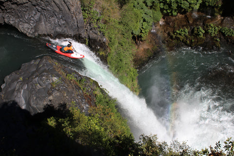 Bren Orton Waterfall Kayak Chile