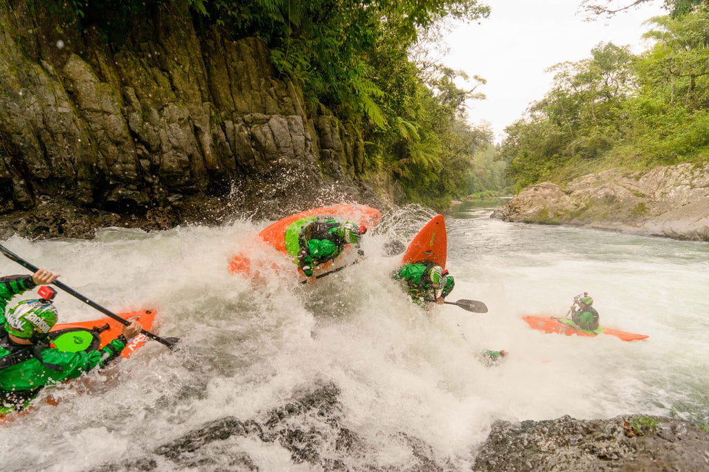 Nick Troutman Double Drop Mexico Kayaking