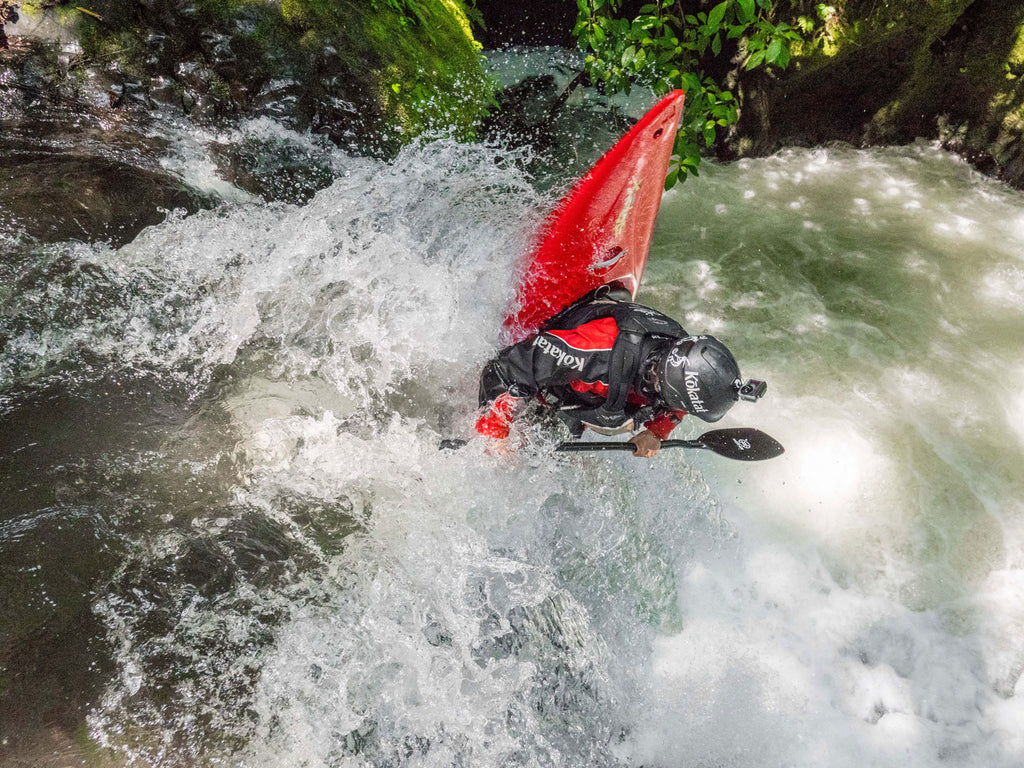 Kalob Grady Kayaking Freewheel Mexico