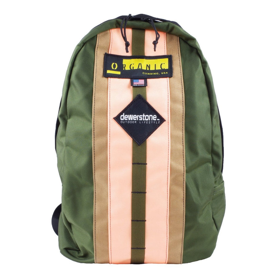 dewerstone Olive dewerstone x Organic Climbing - Crag Pack - Travel Backpack