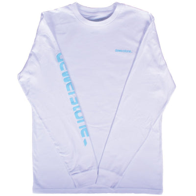 dewerstone Small Monument Long Sleeve - White