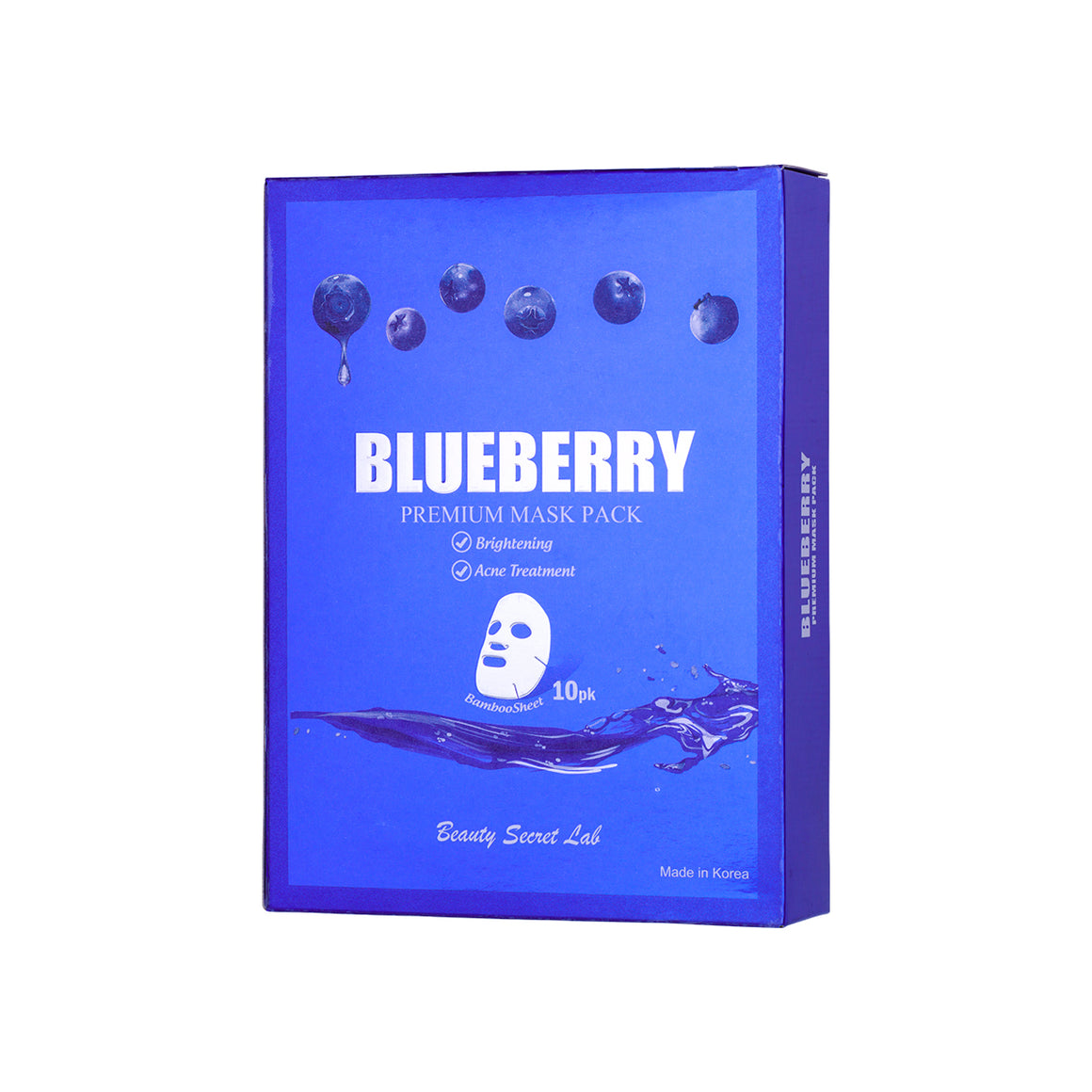 Blueberry Premium Mask