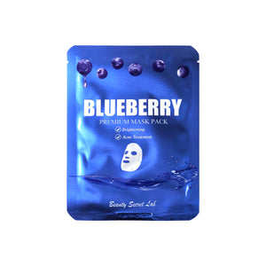 Blueberry Premium Sheet Mask
