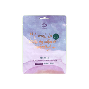 Tea Tree Zen Aromatherapy Sheet Mask