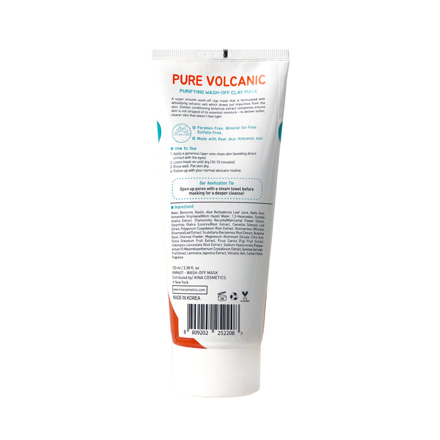 Pure Volcanic Wash-Off Mask