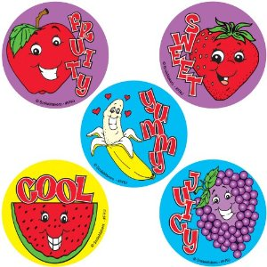 Scratch and Sniff Stickers for Children with Olfactory Dysfunction and Autism
