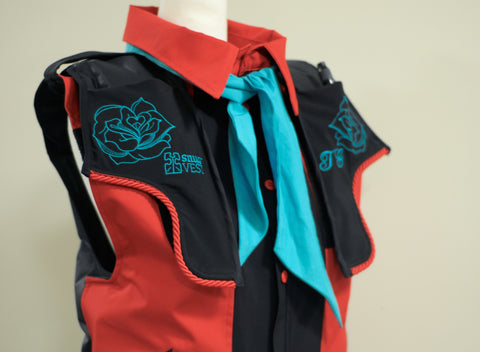 A Snug Vest for Temple Grandin to give her Deep Pressure Therapy