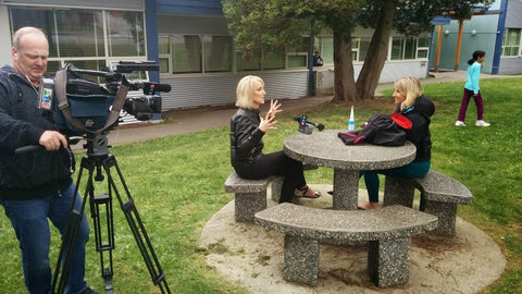 CTV's Consumer Reporter Linda Steele talks to Snug Vest CEO Lisa Fraser about Autism and Deep pressure Therapy