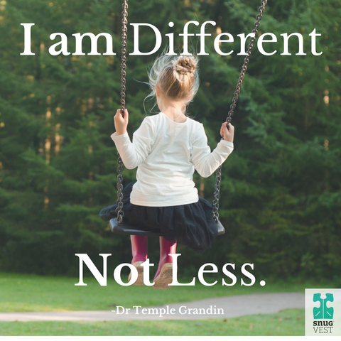 I am different, not less