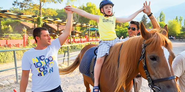 Horse Riding Therapy Activity for Children with Autism