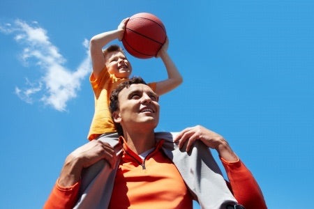 Child with autism and proprioceptive dysfunction having difficulties with sports