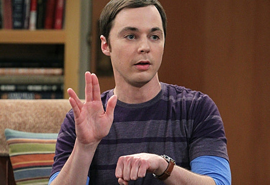 Sheldon Cooper from Big Bang who has autism