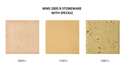 Primo Stoneware with Speckle - WMS 2005 B