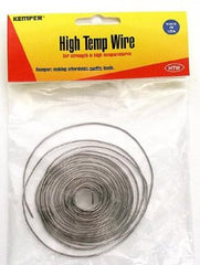 Hi Temp Wire - 10' (17 gage) Cone 5