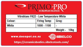Primo Low Temperature White - VITROBLANC FK22