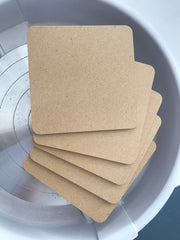 "7"" Square Insert 5pcs Set for WBS-7S"