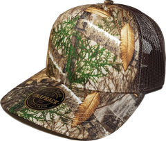 Realtree Printed Trucker Front
