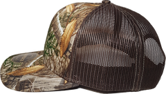 Realtree Printed Trucker Side