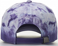 Hand Dipped Tie Dye Dad Hat Back