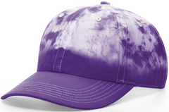 Hand Diped Tie Dye Dad Hat